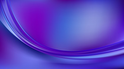 Abstract Blue and Purple Wave Background