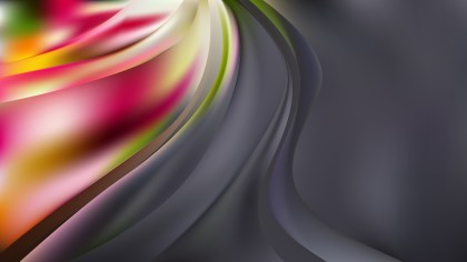 Dark Color Abstract Wavy Background