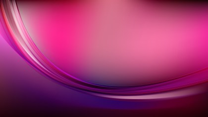 Glowing Dark Purple Wave Background Design