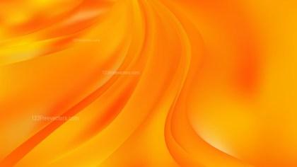 Orange Abstract Wave Background Image