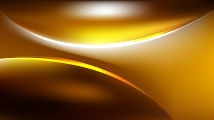 Abstract Orange and Black Curve Background