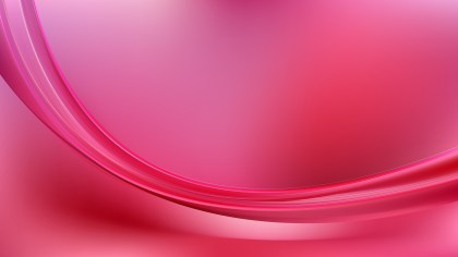 Abstract Pink Shiny Wave Background Design