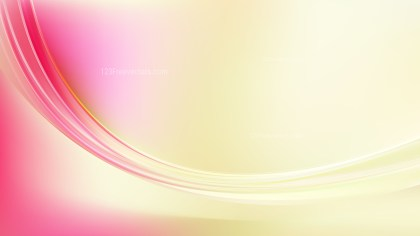 Pink and Yellow Abstract Wave Background