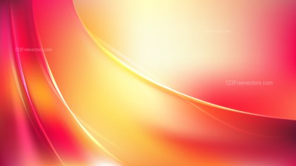 Pink and Yellow Abstract Wave Background Image