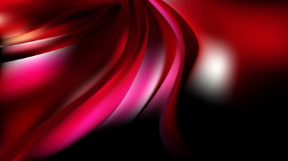 Abstract Pink Red and Black Curve Background Vector Art