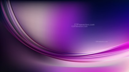 Glowing Abstract Purple Black and White Wave Background Graphic