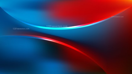 Red and Blue Abstract Curve Background
