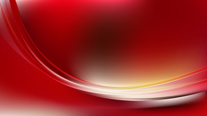 Abstract Red and Yellow Wave Background Template Illustrator