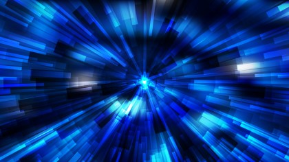 Abstract Black and Blue Radial Lights Background Vector Art
