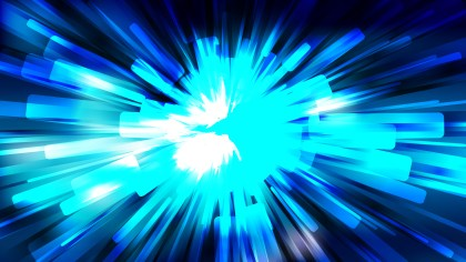 Abstract Black and Blue Light Rays Background Image