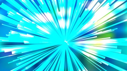 Abstract Blue and White Sunburst Background Vector Image