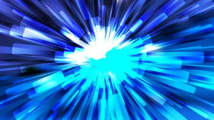 Abstract Blue Black and White Light Rays Background Vector Art