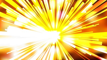 Abstract Orange and White Light Rays Background