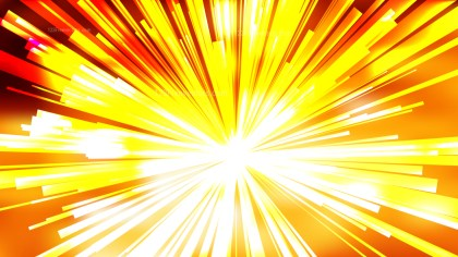 Abstract Orange and White Rays Background