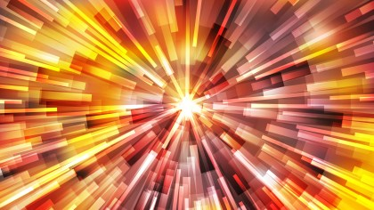 Abstract Orange and Yellow Burst Background Vector Image