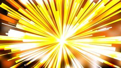 Abstract Orange and Yellow Light Rays Background Vector Image