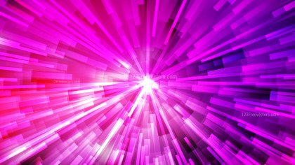 Abstract Pink and Purple Radial Explosion Background Design Template