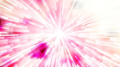 Abstract Pink and White Light Rays Background Vector Art