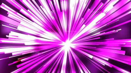 Abstract Purple and White Light Rays Background Image