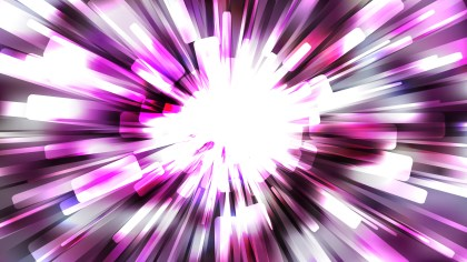 Abstract Purple Black and White Radial Sunburst Background Vector Graphic