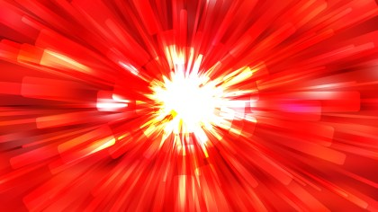 Abstract Red and White Radial Explosion Background