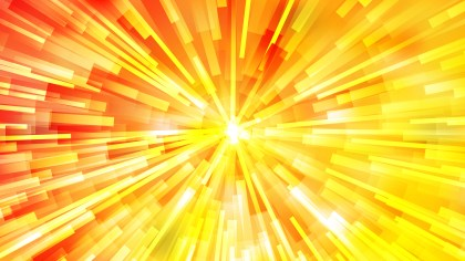 Abstract Red and Yellow Radial Explosion Background