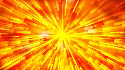 Abstract Red and Yellow Radial Lights Background Image