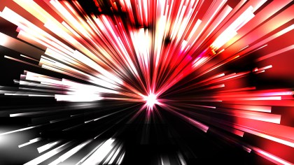 Abstract Red Black and White Radial Stripes Background