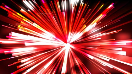 Abstract Red Black and White Rays Background
