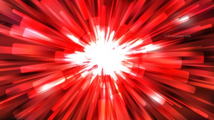 Abstract Red Black and White Starburst Background Template