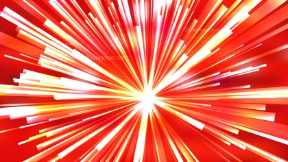 Abstract Red White and Yellow Light Burst Background
