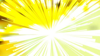 Abstract Yellow and White Starburst Background Design