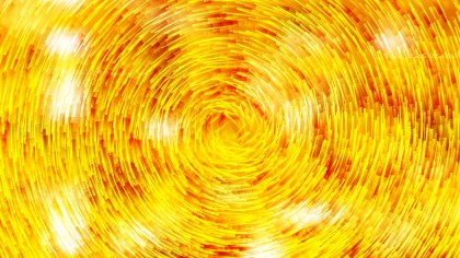 Orange and Yellow Circular Lines Background