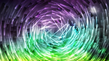 Purple and Green Irregular Circular Lines Background Design