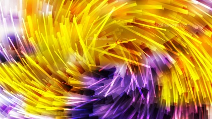 Purple and Orange Overlapping Twirl Striped Lines Background Vector Art