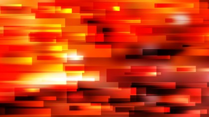 Abstract Red and Orange Horizontal Lines and Stripes Background