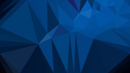 Black and Blue Polygonal Background
