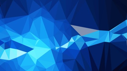 Abstract Black and Blue Polygon Background Design Vector Graphic