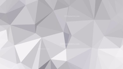 Bright Grey Polygon Triangle Background