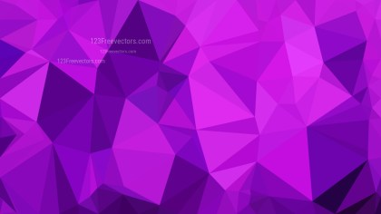 Abstract Bright Purple Polygon Background Graphic Design Vector Image