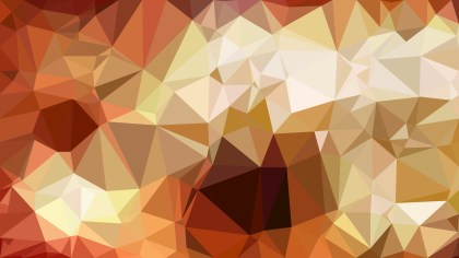Abstract Brown Polygonal Background Design Vector Illustration