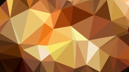Brown Polygon Triangle Pattern Background