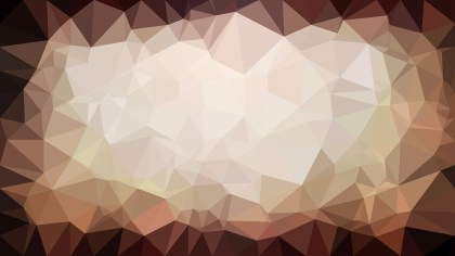 Abstract Brown Polygon Background