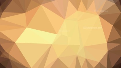 Brown Polygon Abstract Background