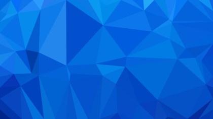 Cobalt Blue Low Poly Background Design