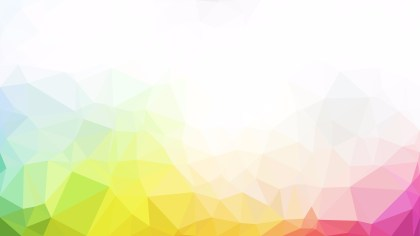 Abstract Colorful Polygon Triangle Background Vector Image