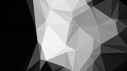Cool Grey Polygon Background Graphic Design Vector Art