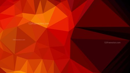 Cool Orange Polygon Background Graphic Design Vector Art