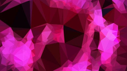 Abstract Cool Pink Polygon Pattern Background