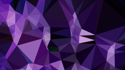 Cool Purple Polygon Triangle Pattern Background Illustration
